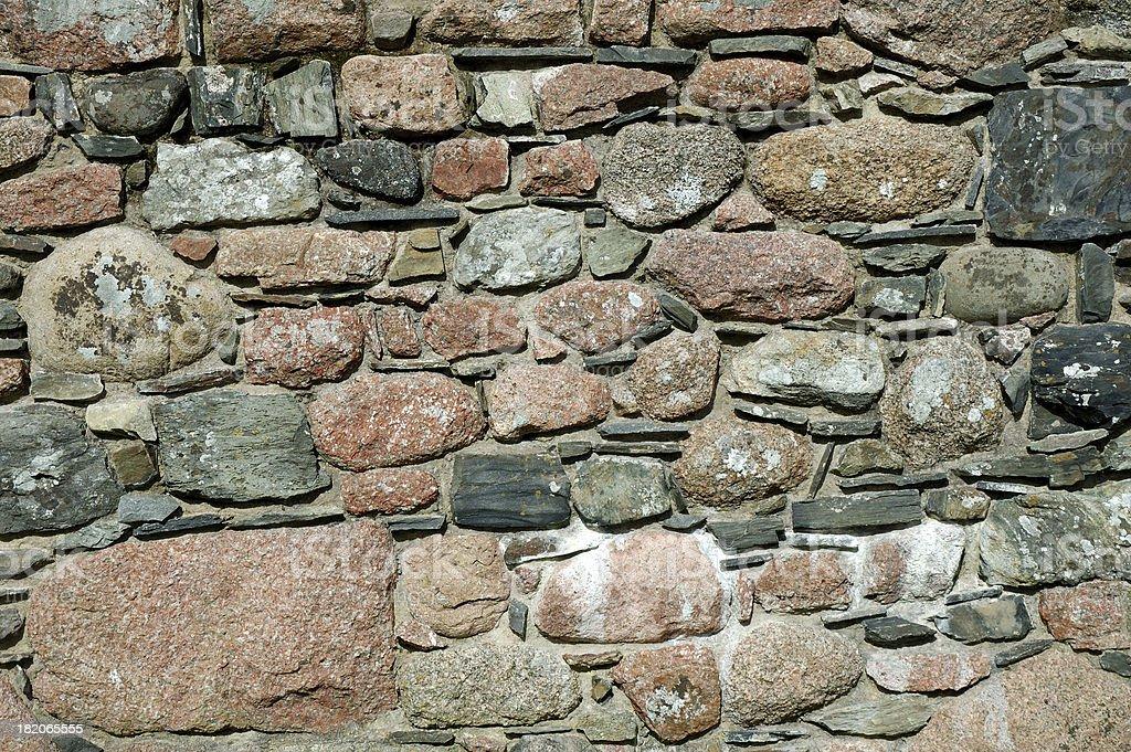 Grunge stone wall stock photo