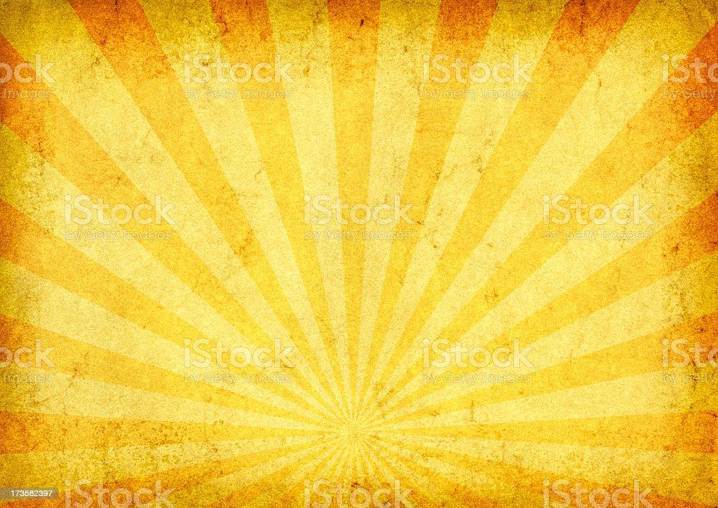 Grunge style background of a sunrise stock photo