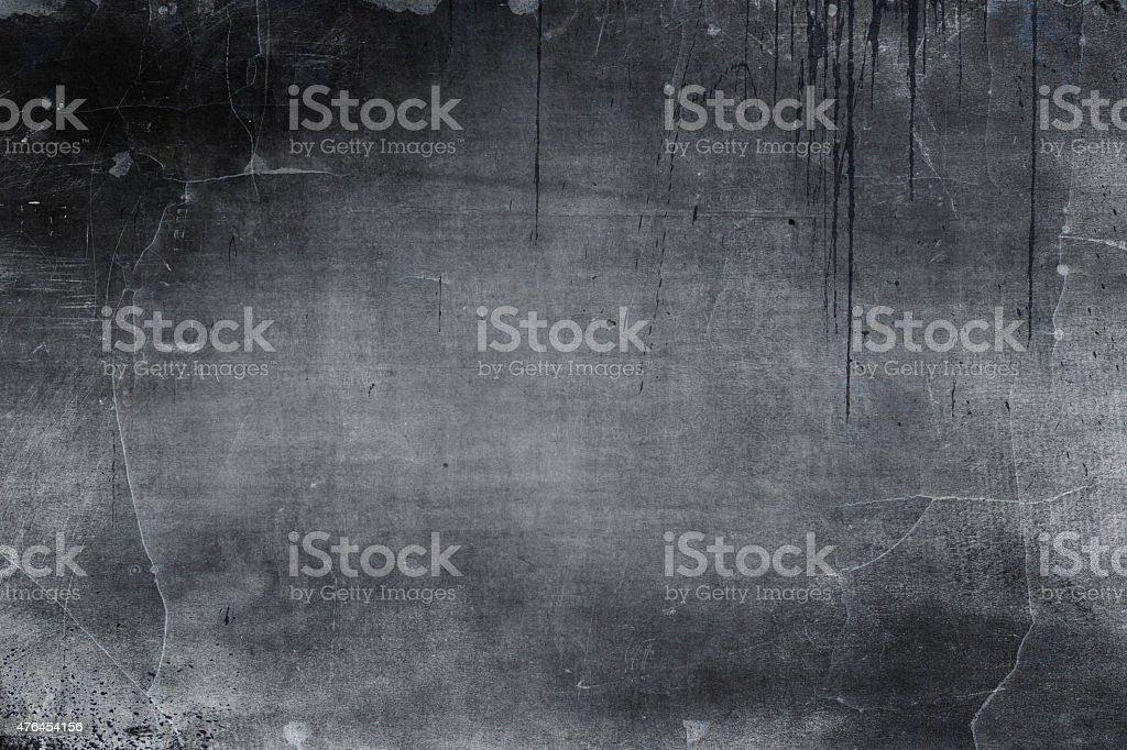 Grunge style weathered black background stock photo