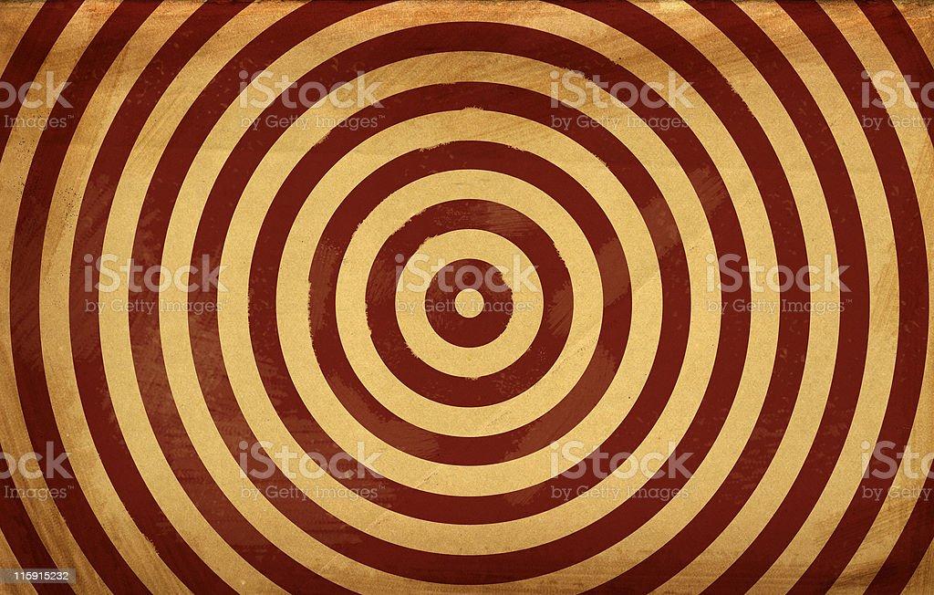 Grunge Target Background royalty-free stock photo