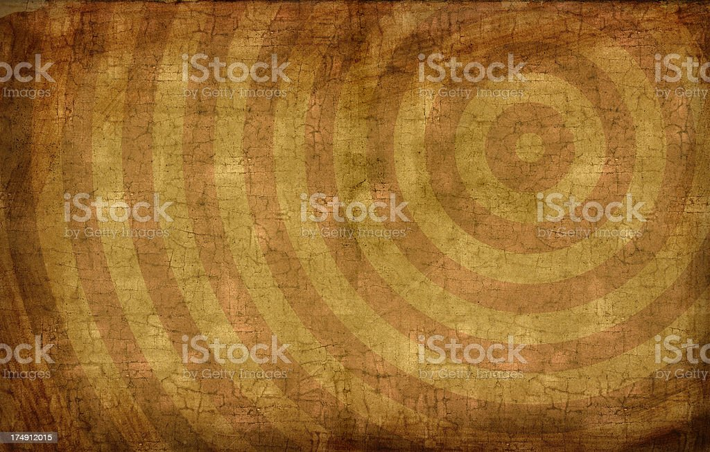 Grunge Target Background royalty-free stock photo