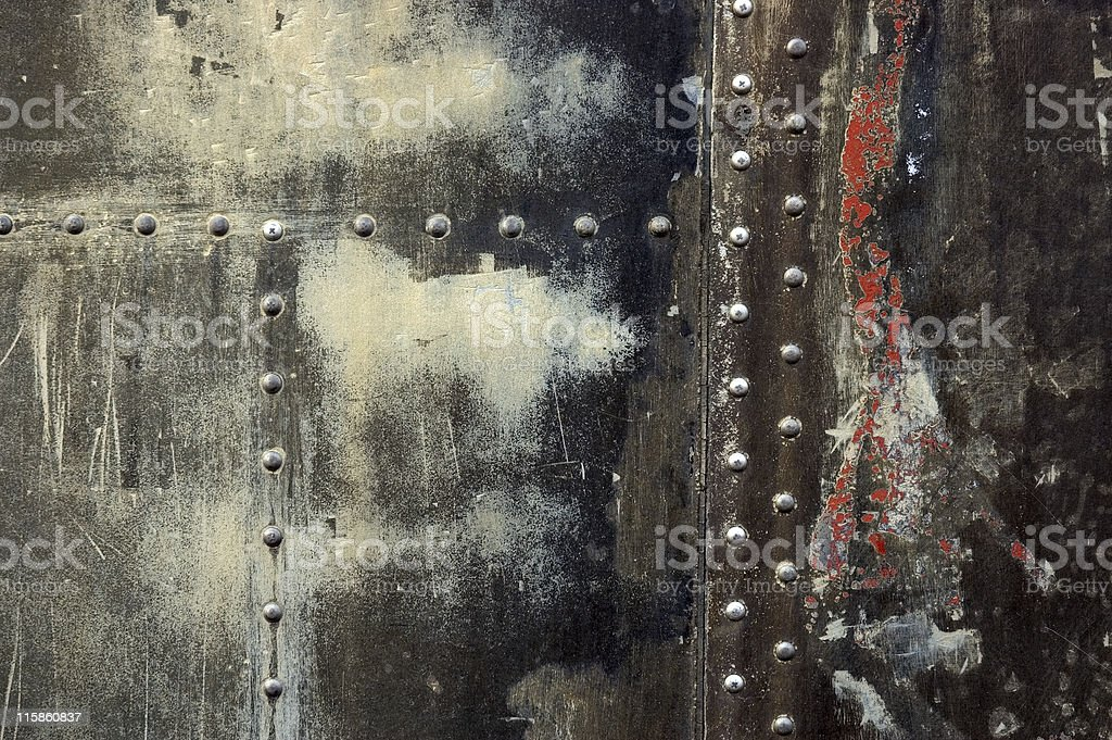 Grunge Texture with  Rivets #4 royalty-free stock photo