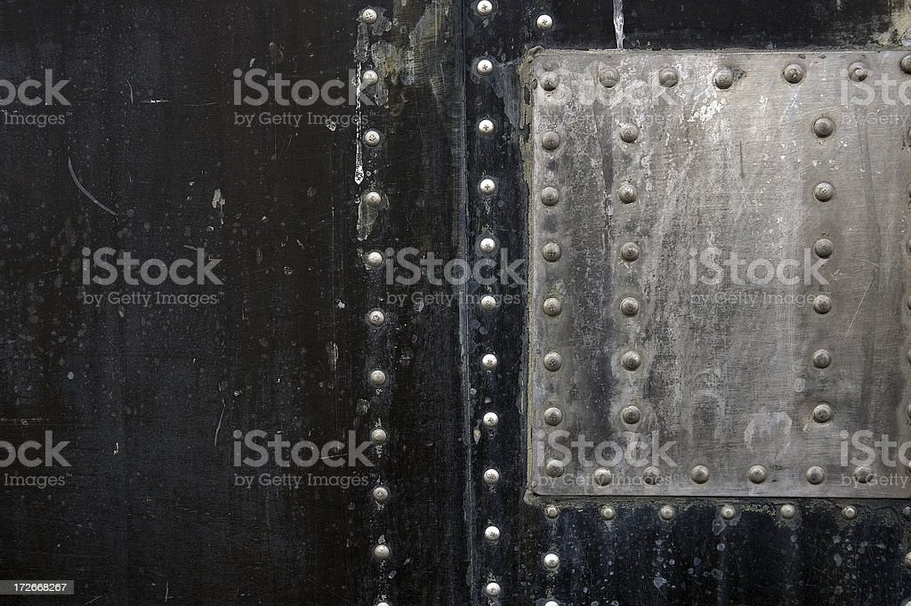 Grunge Texture with Rivets #5 royalty-free stock photo