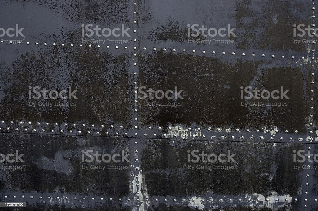 Grunge Texture with Rivets #2 royalty-free stock photo