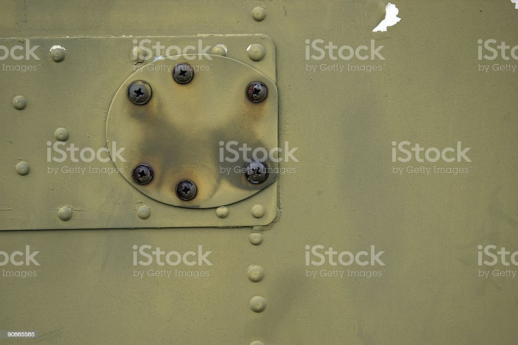 Grunge Texture with Rivets #6 royalty-free stock photo