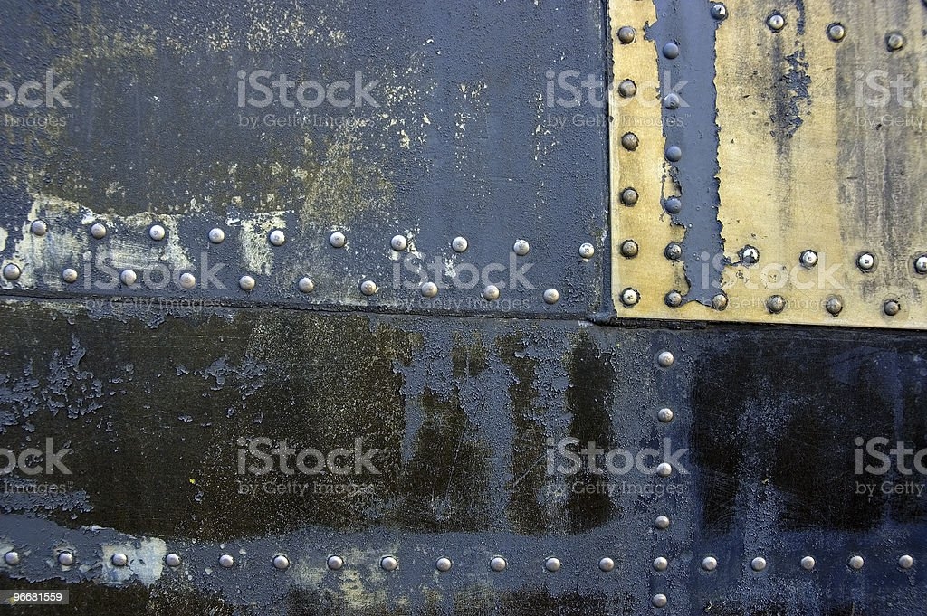 Grunge Texture with Rivets #3 royalty-free stock photo