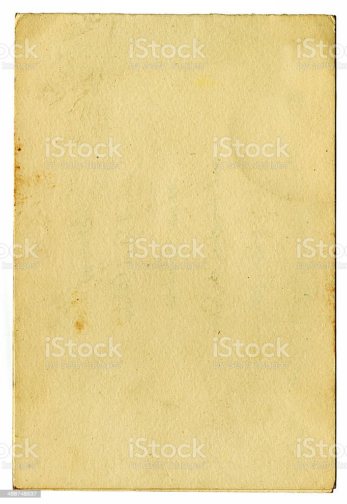 Grunge vintage carta (include Clipping Path) foto stock royalty-free