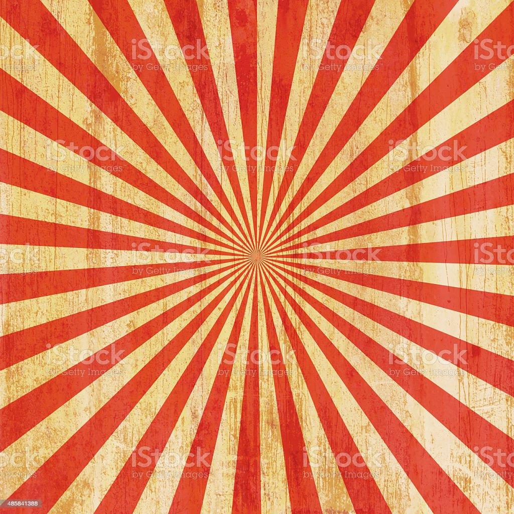 grunge vintage sunburst background and texture stock photo