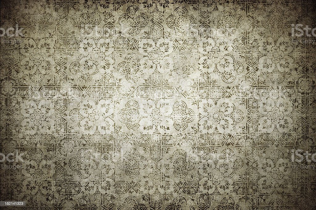 Grunge vintage wallpaper with shadows royalty-free stock photo