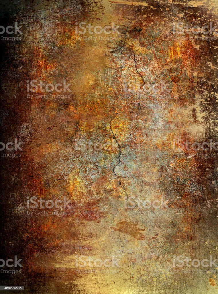 Grunge wall background stock photo