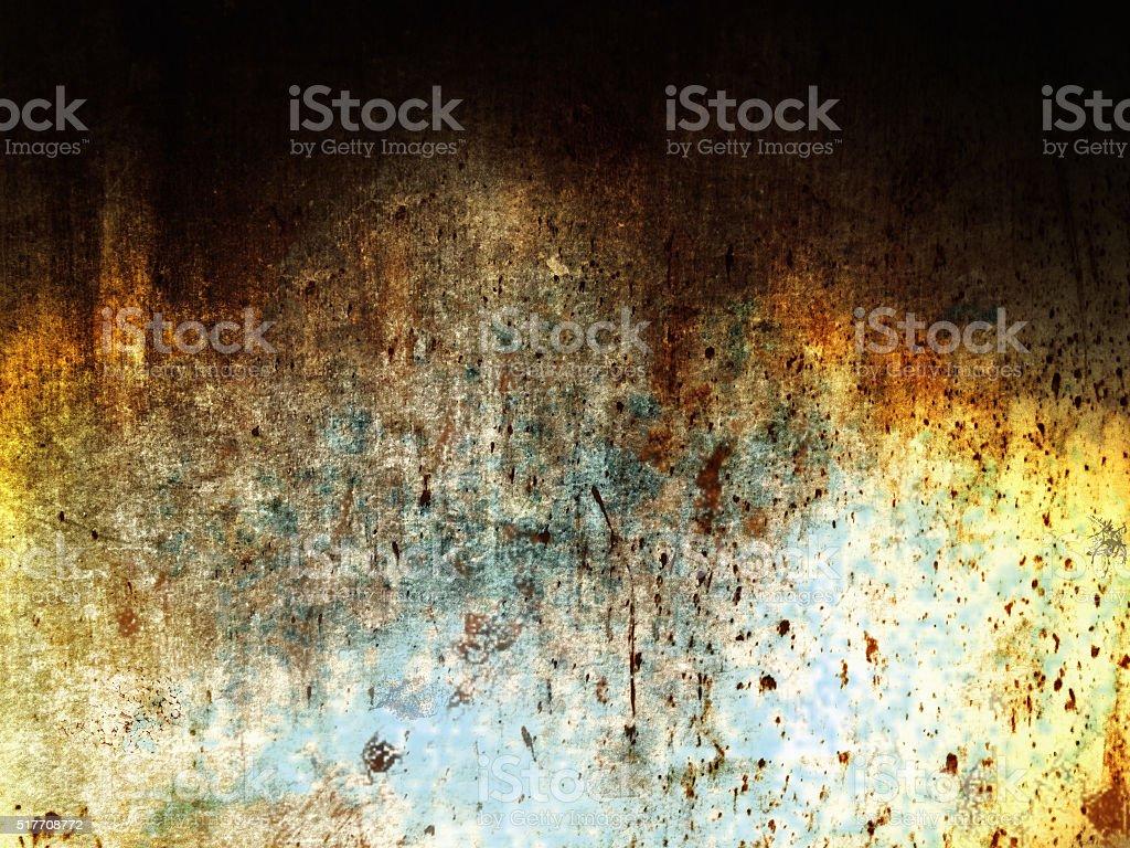 Grunge wall background stock photo