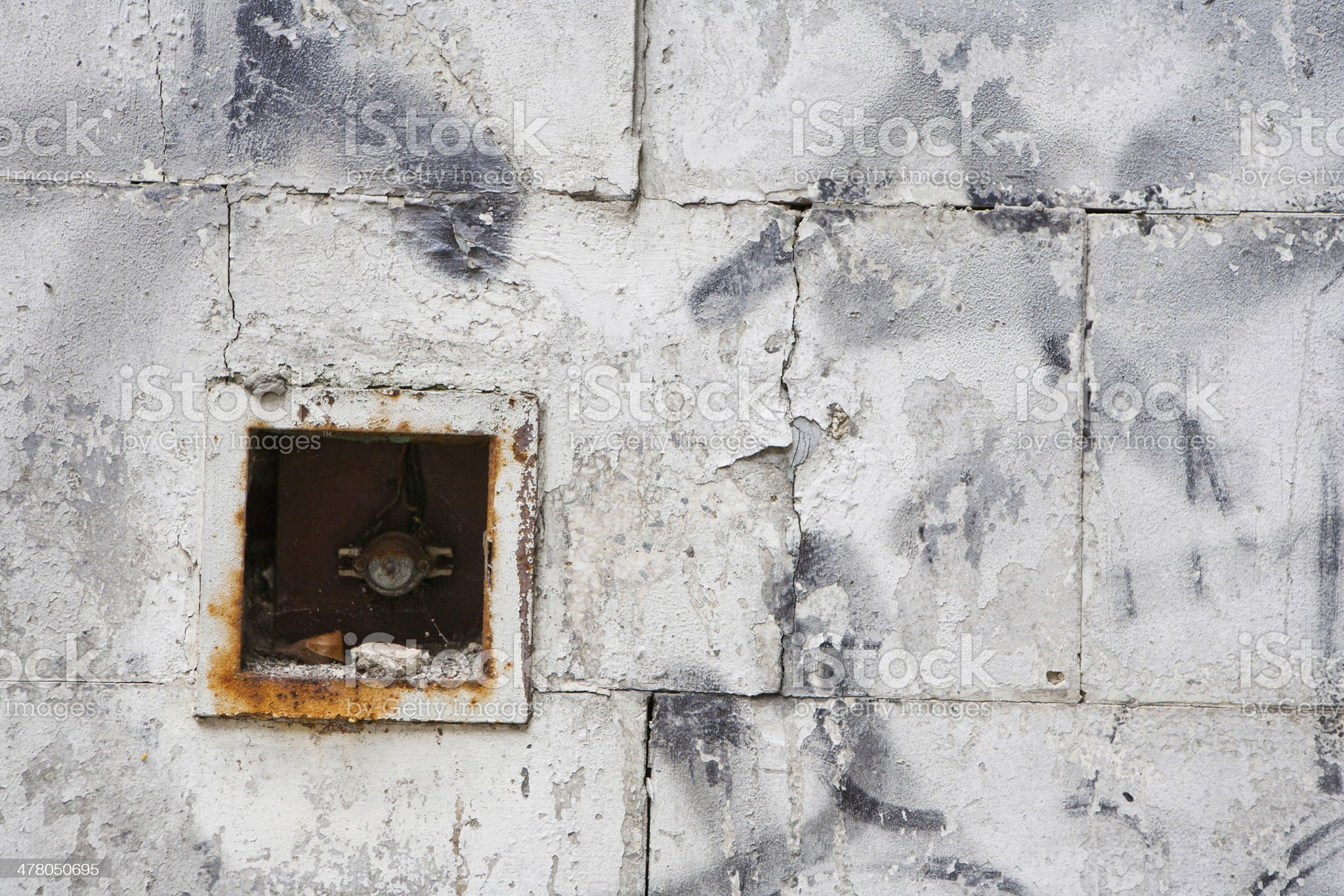Grunge wall of the old house. Textured background royalty-free stock photo