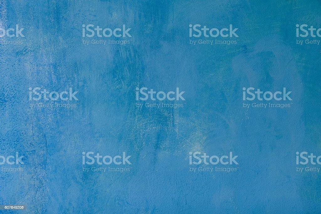 Grunge wall painted blue texture stock photo