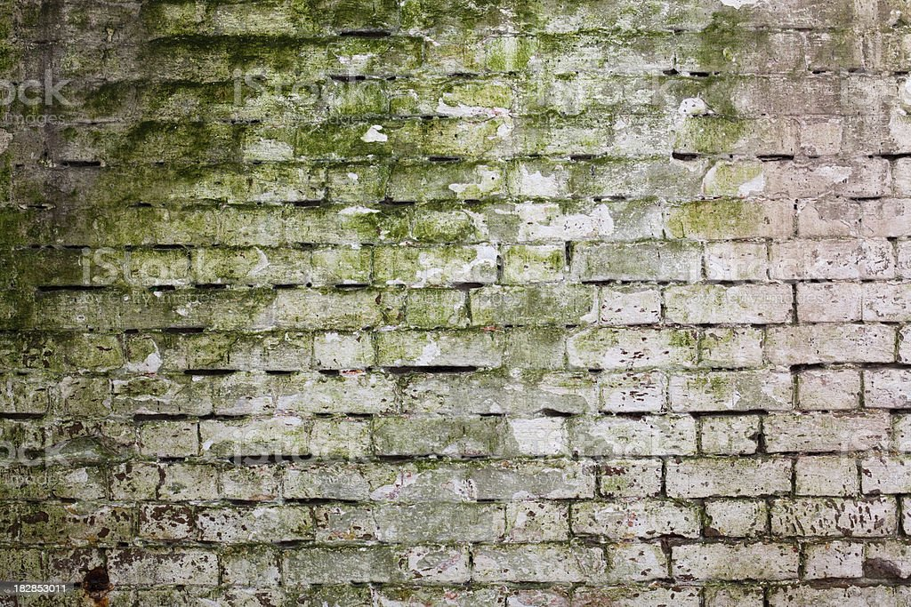 Grunge Walls of Alcatraz royalty-free stock photo