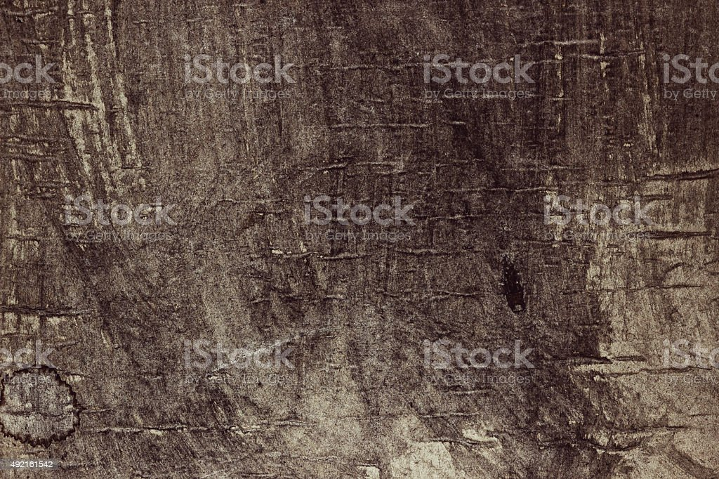 Grunge weathered old paper background - Brown colored stock photo