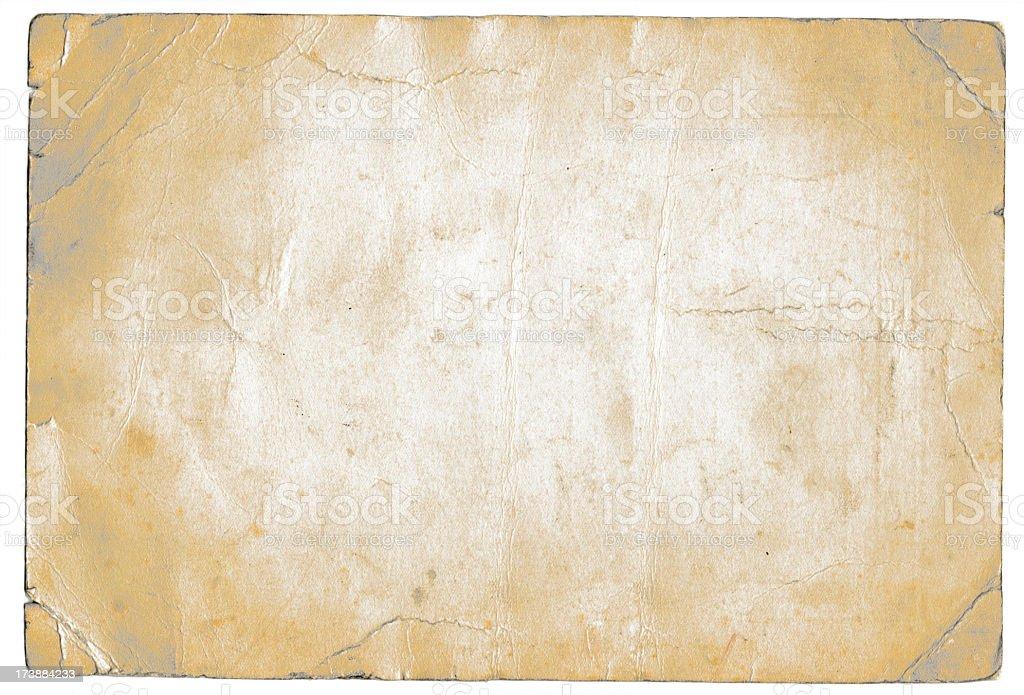 Grunge white paper royalty-free stock photo
