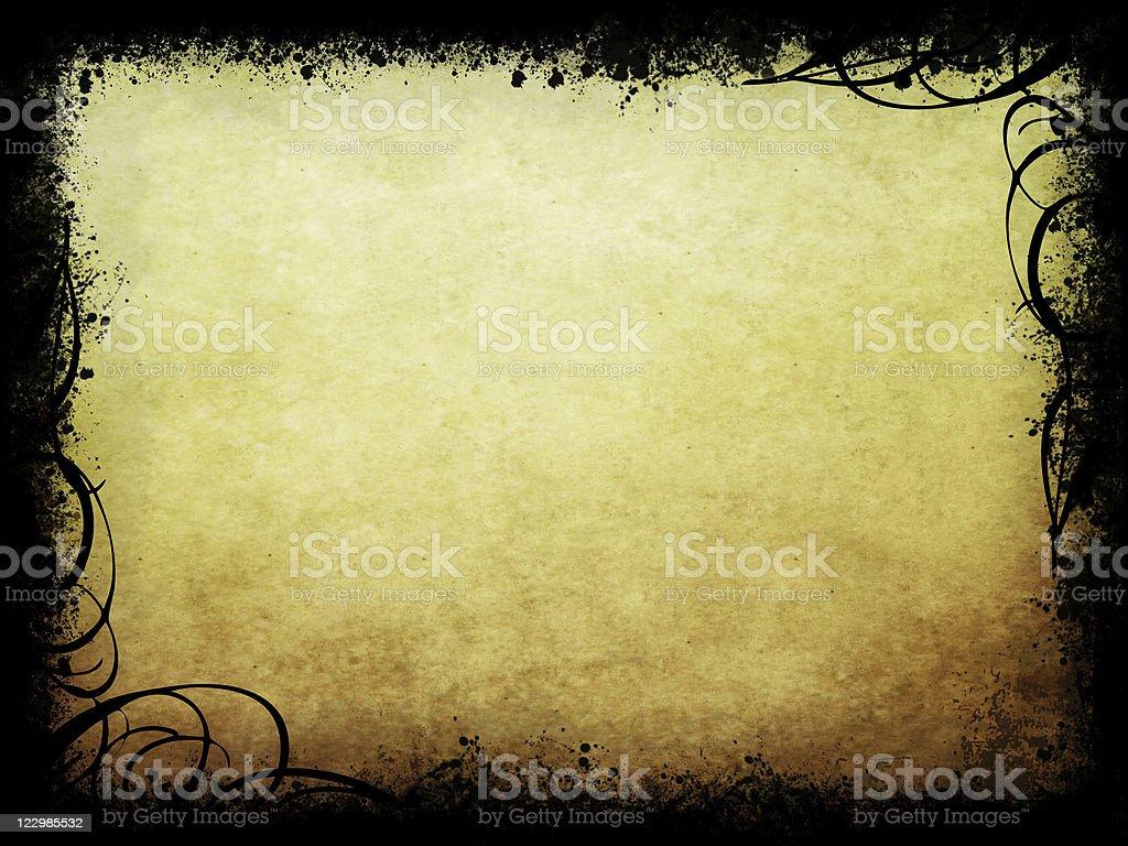 Grunge with swirls royalty-free stock photo