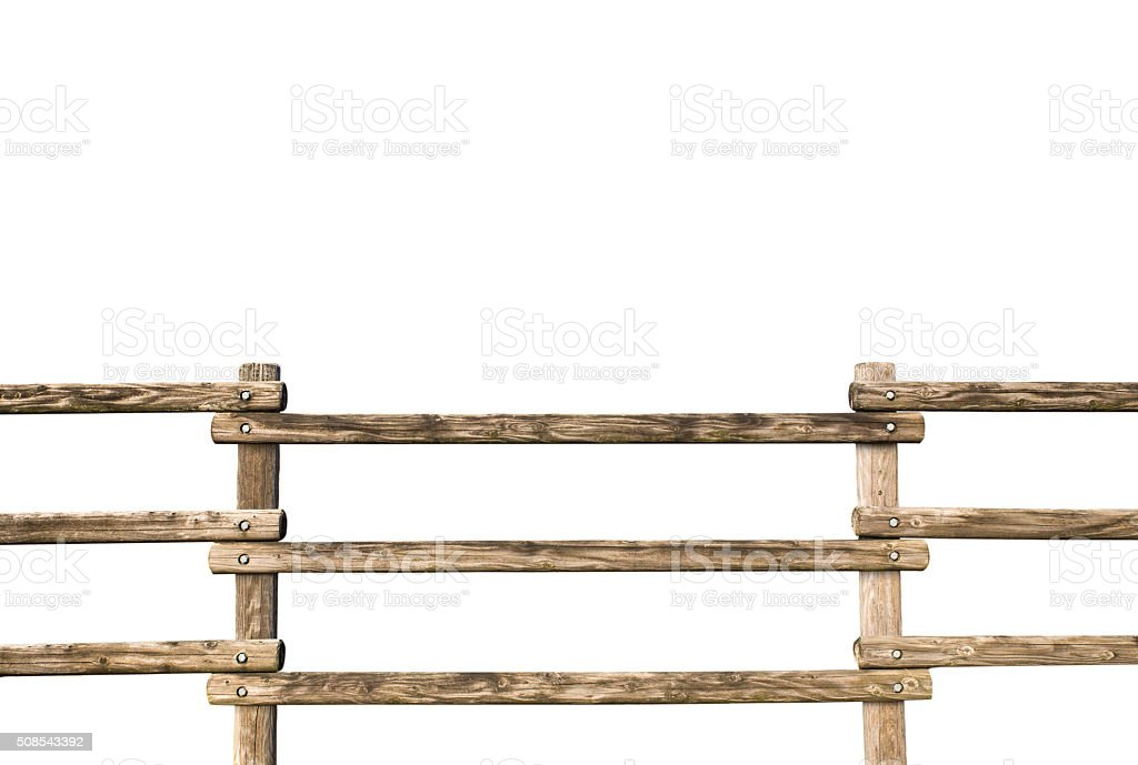 grunge wooden fence stock photo
