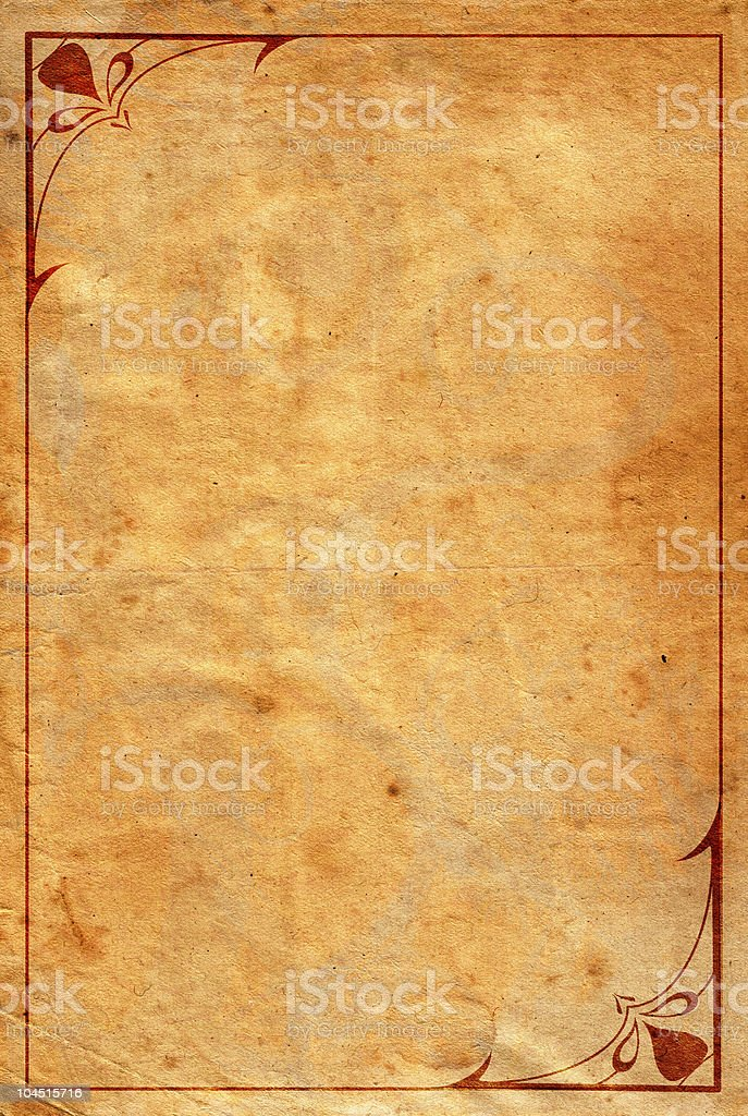 Grunge/ornamental royalty-free stock photo