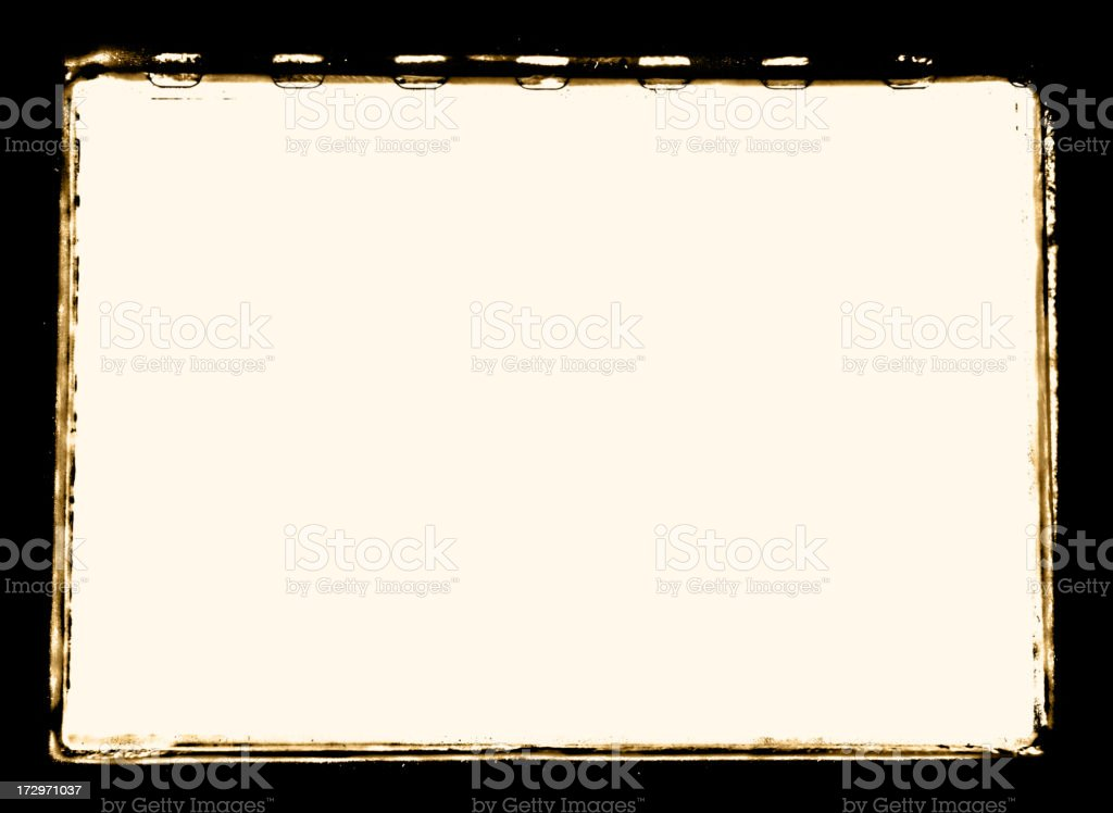 Grunge/Retro Photo Border stock photo