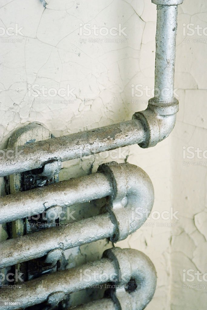 grungey pipes royalty-free stock photo