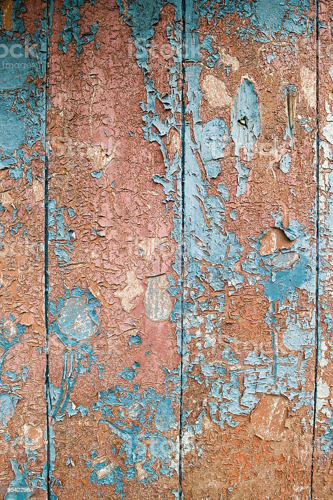 Grungey wood and paint background stock photo
