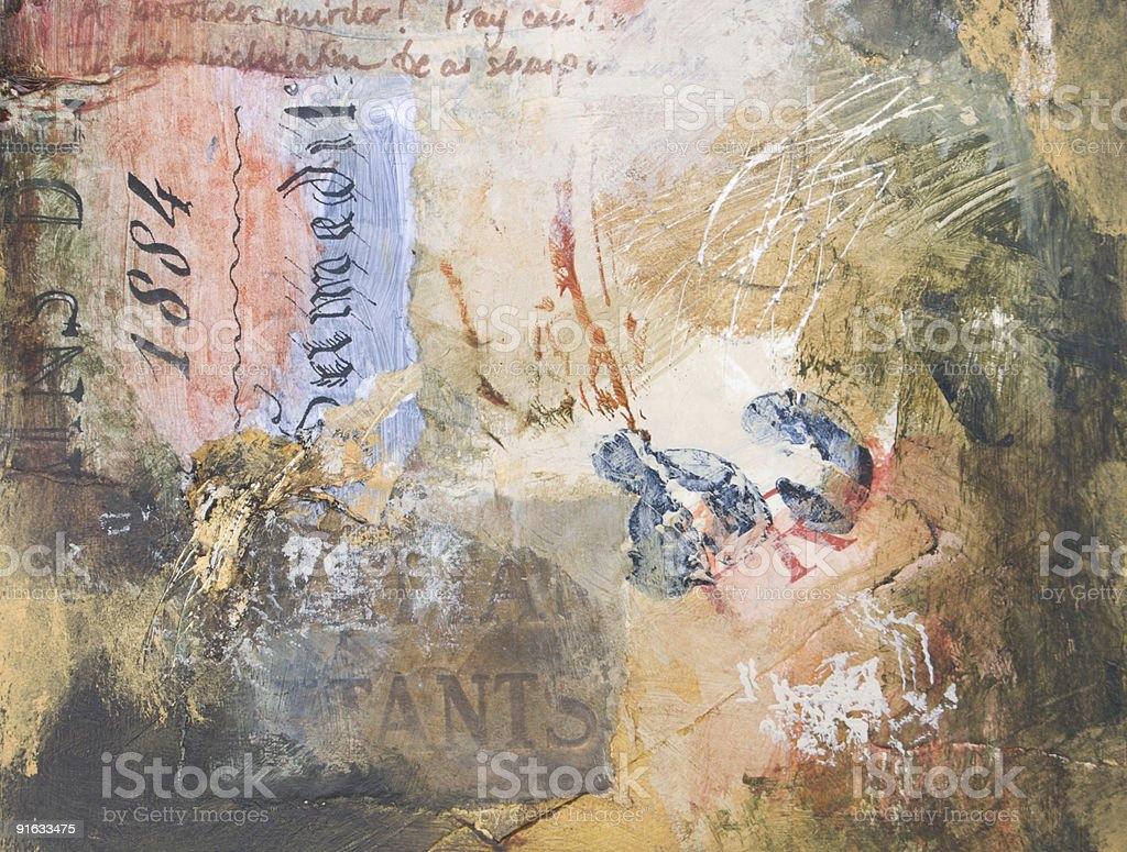 Grungy abstract painted background stock photo