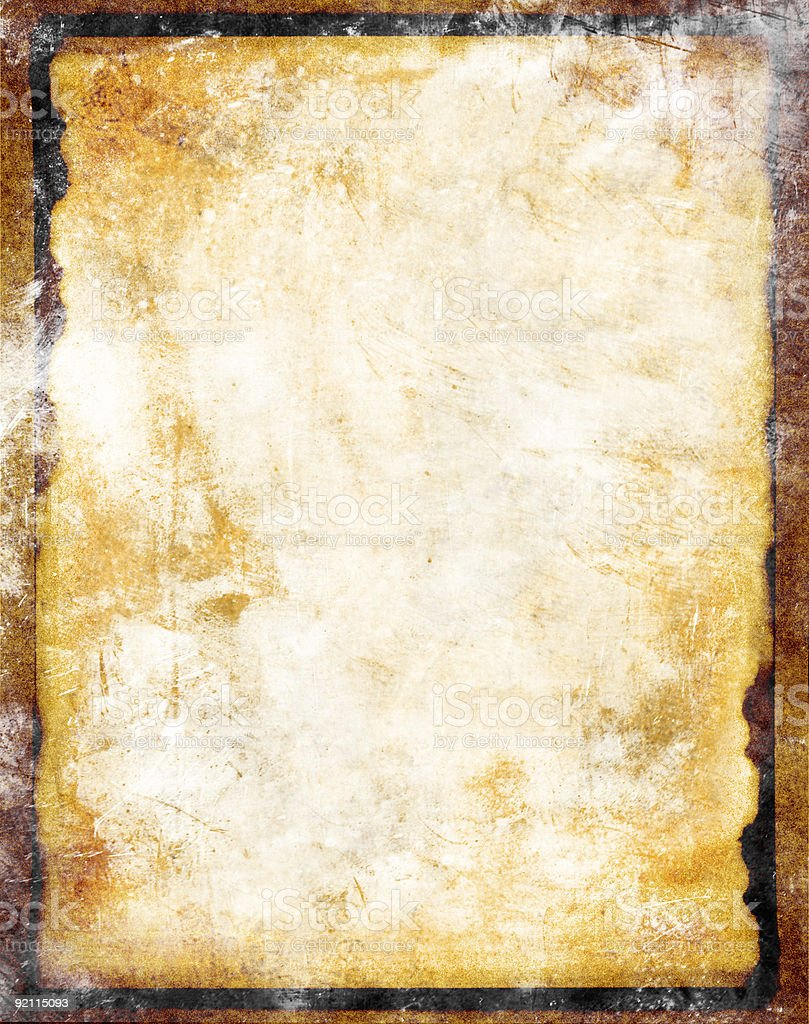 grungy and chalky paper background texture stock photo