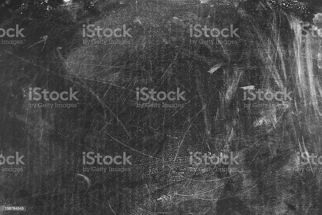 grungy blackboard abstract background in black and white royalty-free stock photo