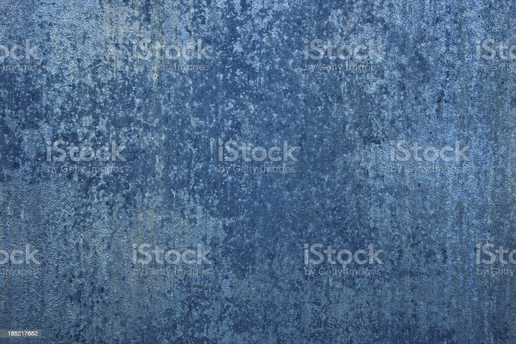 Grungy Blue Metal Background stock photo