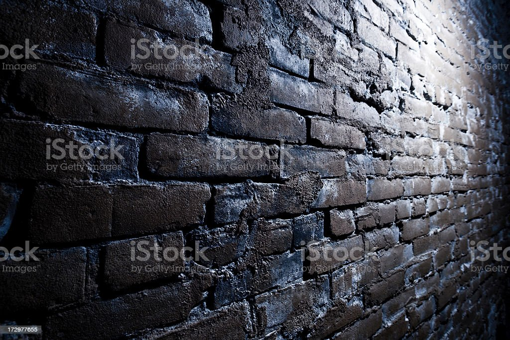 Grungy Brick Wall royalty-free stock photo