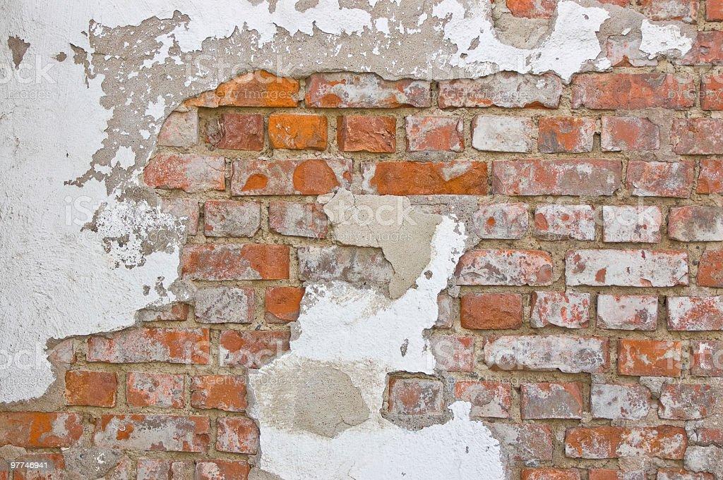 Grungy Brickwall stock photo