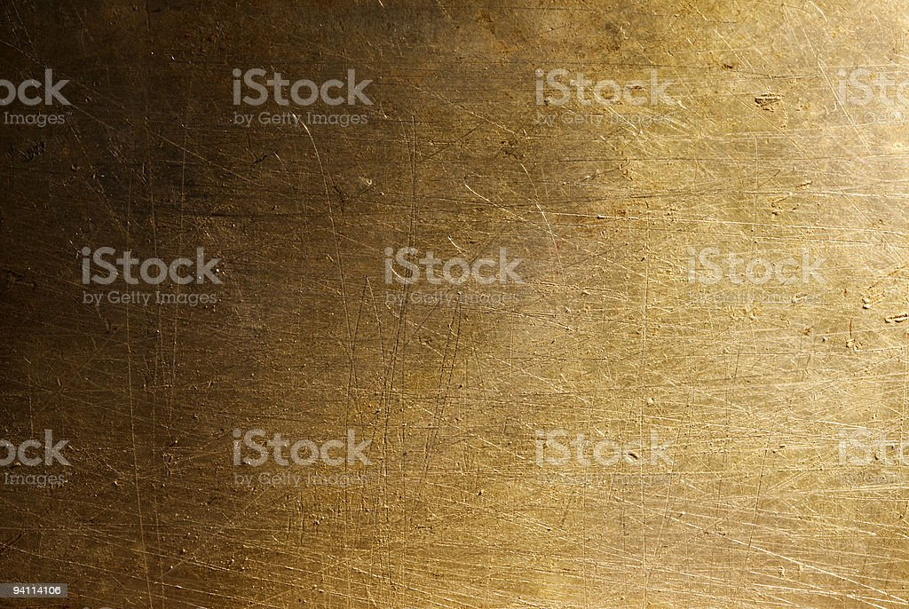 A grungy bronze metal background royalty-free stock photo