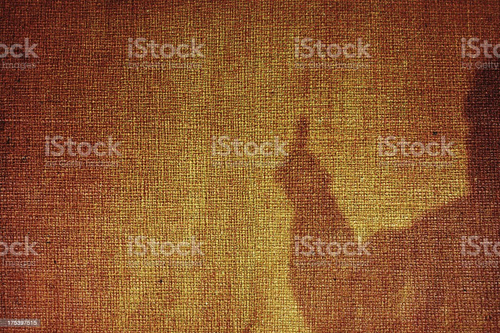 Grungy canvas with shadow royalty-free stock photo