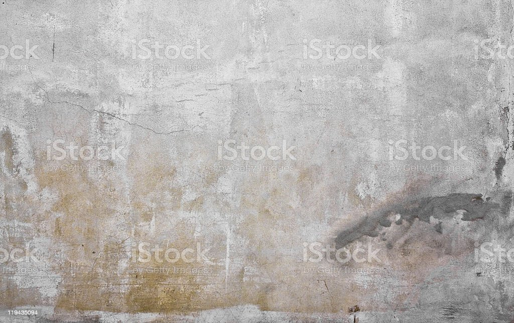Grungy cement wall royalty-free stock photo