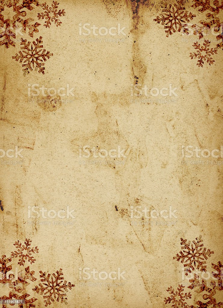 Grungy christmas background stock photo