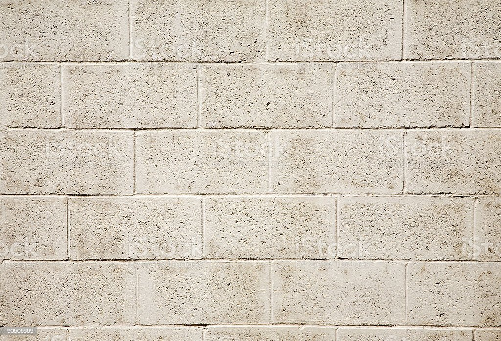 Grungy Cinder Block Textured Background stock photo