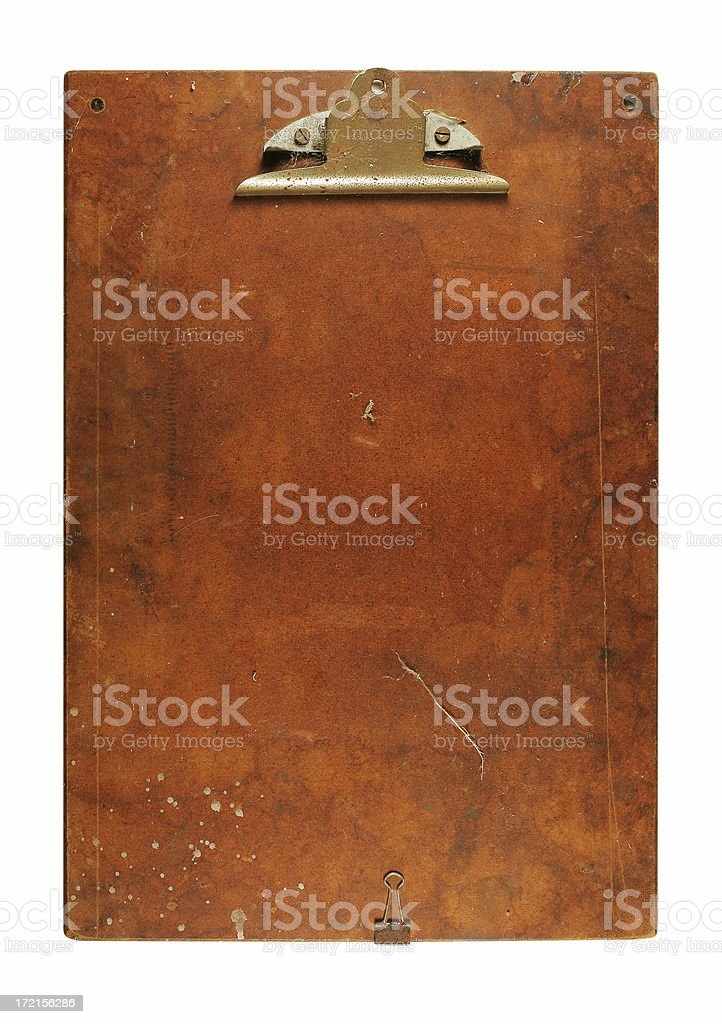 Grungy Clipboard royalty-free stock photo