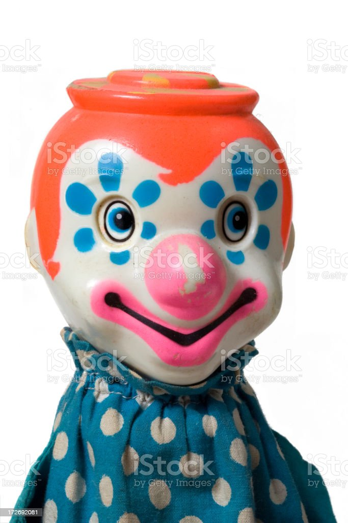 Grungy Clown royalty-free stock photo