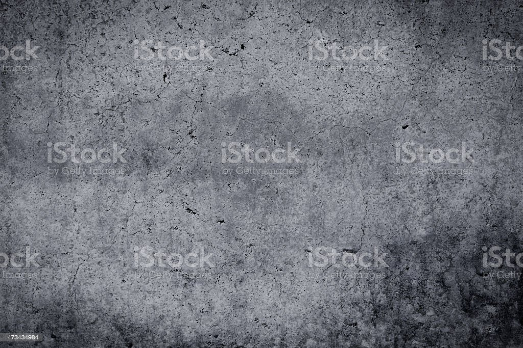 Grungy concrete wall and floor as background stock photo