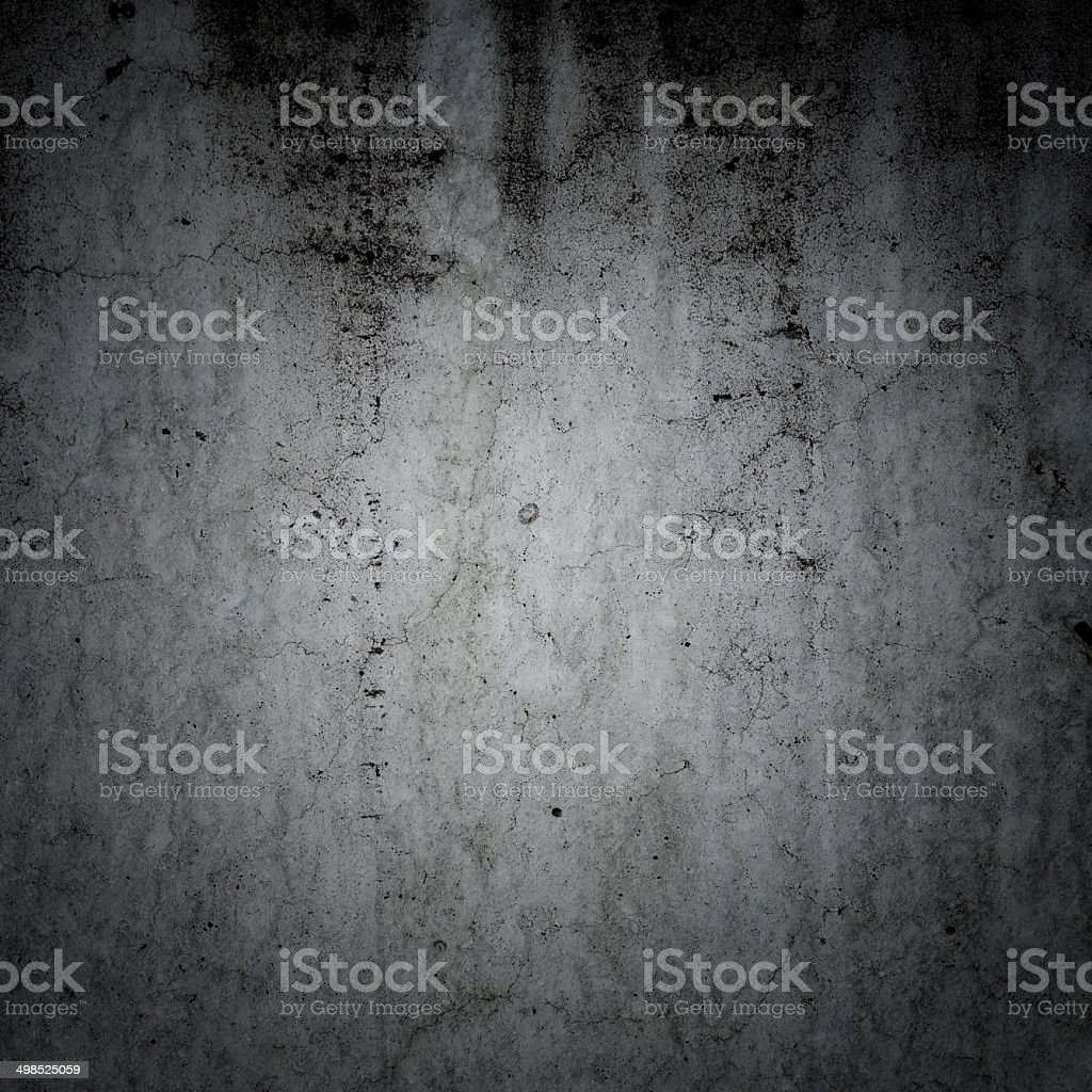 Grungy concrete wall and floor as background royalty-free stock photo