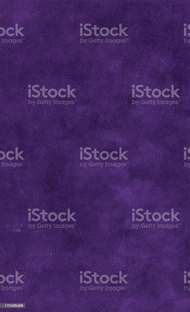 Grungy  dark violet velvet bookcover XL stock photo