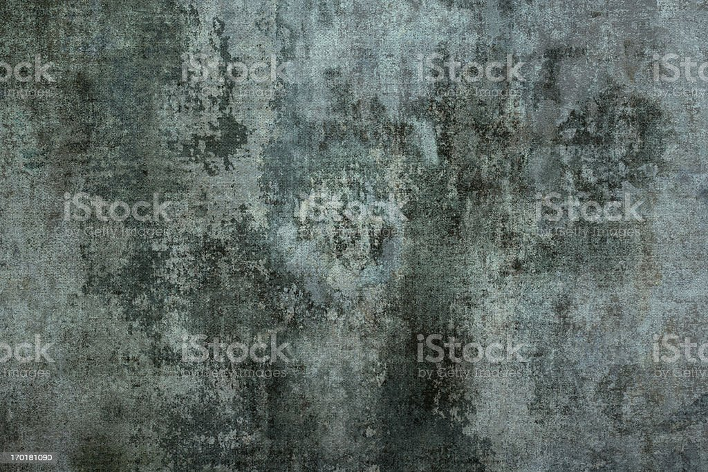 Grungy Dilapidated Concrete Wall stock photo