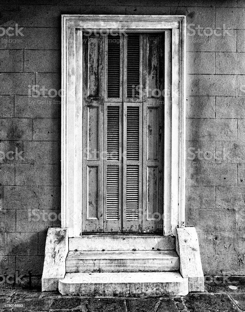 Grungy Doorway stock photo