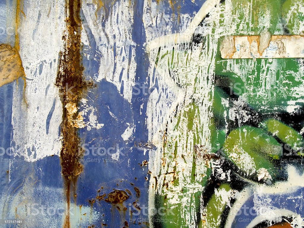 grungy graffiti royalty-free stock photo