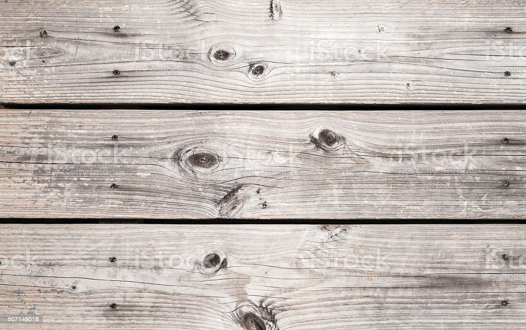 Grungy gray wooden wall made of boards stock photo