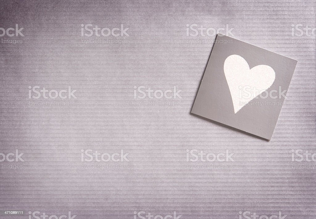 Grungy heart background stock photo