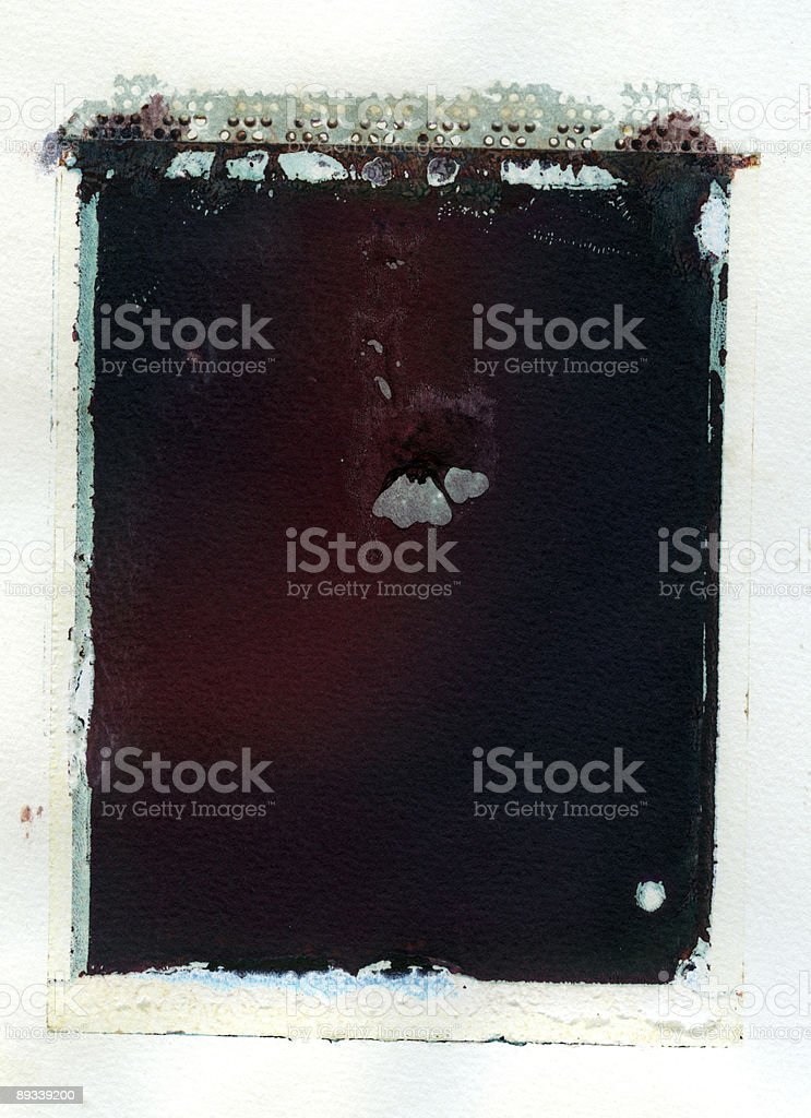 Grungy instant transfer stock photo