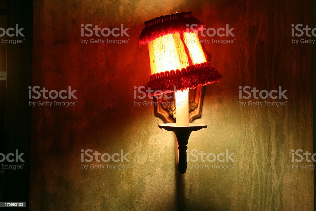 Grungy Lamp royalty-free stock photo