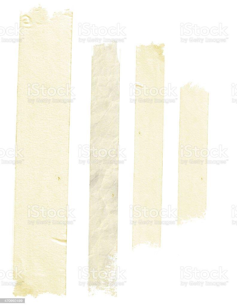 Grungy Masking Tape royalty-free stock photo